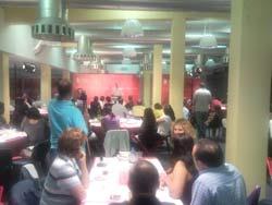 Cerca de cem pessoas participaram no jantar da candidatura de Odivelas