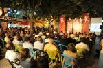 Centenas de pessoas estiveram no comício na Ericeira