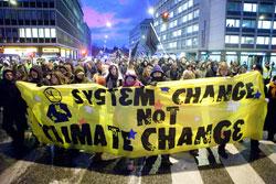 O ano da crise económica termina com apelos à justiça climática. Foto kk+/Flickr