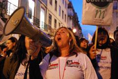 2008 fica marcado pelos maiores protestos de professores de que há memória. Foto de Ana Candeias