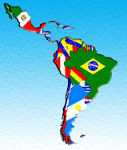 Mapa Latino-americano