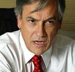 O presidente do Chile, Sebastian Piñera