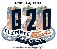 Acção convocada pela Climate Camp para 1 de Abril em Londres