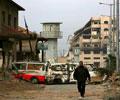 Gaza sob os bombardeamentos - Foto Lusa/EPA