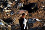 Gaza: crianças vítimas dos brutais bombardeamentos