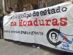 Solidariedade com as Honduras na Galiza