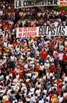 As marchas que juntaram milhares de pessoas foram organizadas pela Frente Nacional Contra o Golpe