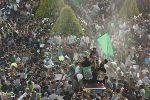 Manifestação pró-Moussavi. Foto de .faramarz, FlickR