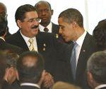 Manuel Zelaya e Barack Obama