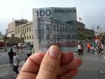 Biblioteca Nacional and the 100 Sole note in Peru - Foto de zieak/Flickr