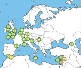Paraísos fiscais na Europa, extraído de Tax Justice Network