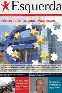 Jornal Esquerda de Abril de 2009