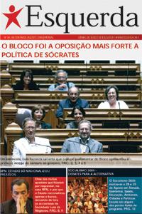 Jornal Esquerda 36 - Agosto de 2009