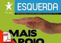 Jornal Esquerda 37 - Fevereiro 2010