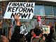 Vice-presidente do Goldman Sachs acusado de criar e vender produtos financeiros fraudulentos. Foto SEIU International/Flickr