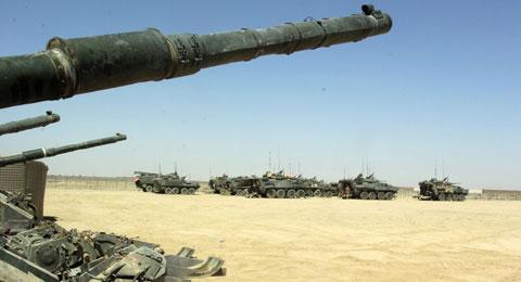 Tropas canadianas no Afeganistão. Foto de lefrancevi, FlickR