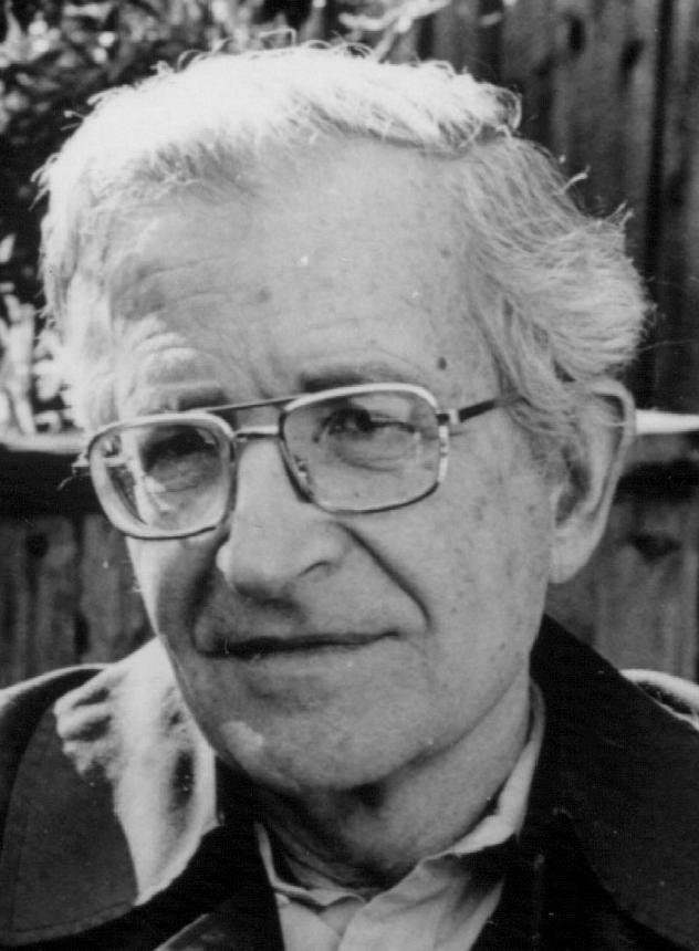 Noam Chomsky, filósofo e activista político.