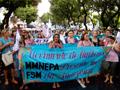 Mulheres marcaram forte presença na abertura do Fórum - Foto: Emmanuelle Reungoat