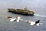 O porta-aviões Nimitz