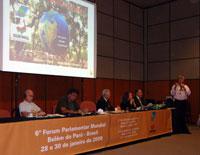 Fórum Parlamentar Mundial - Foto de Renato Soeiro