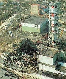 Central Nuclear em Chernobyl, Ucrânia.