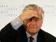 """O Presidente do BCE afirmou que a possibilidade de uma agência de rating europeia """"devia ser analisada a nível global"""", na conferência de imprensa que seguiu a reunião dos governadores, esta quinta-feira, no CCB em Lisboa. Foto Miguel A. Lopes/Lusa"""