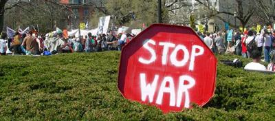 Manifestação em Washington, foto de Tate & Renner