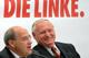 Gregor Gysi e Oskar Lafontaine comentam resultado histórico do Die Linke