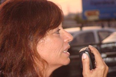 Cecília Honório interveio no final da marcha lenta