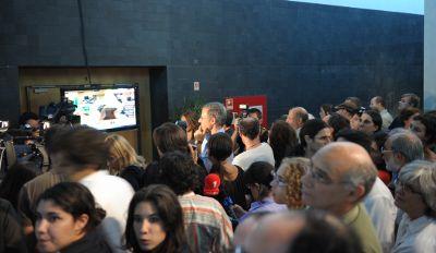 A noite eleitoral do Bloco. Foto de Paulete Matos