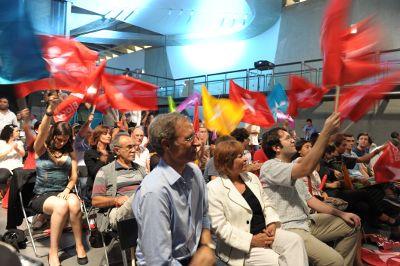 Bloquistas comemoram resultado. Foto de Paulete Matos