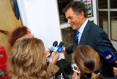 Armando Vara em 2008. Foto de ARMINDO MENDES/LUSA