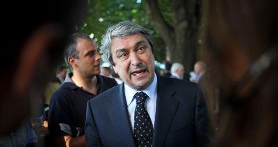 O Procurador-geral da República, Pinto Monteiro durante a cerimónia de apresentação dos novos magistrados do Ministério Público, Lisboa, 30 de junho de 2009. JOSE SENA GOULAO/LUSA