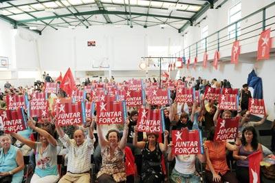 Sessão de encerramento do Fórum Socialismo 2009 - Foto de Paulete Matos