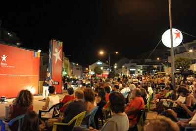 Bloco regressou aos comicíos de rua - Comício no Carvoeiro (Lagoa)