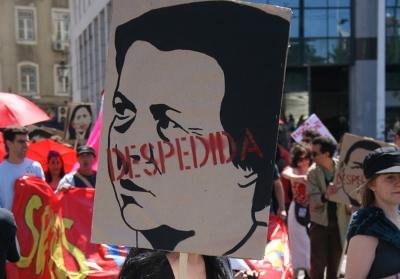 Estima-se que no próximo ano o desemprego atinja mais de 700 mil pessoas em Portugal. Foto Carla Luís, Flickr MayDayLisboa09