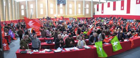 Sessão de encerramento da VI Convenção do Bloco - Foto de Paulete Matos
