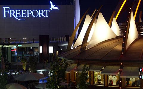 Freeport - inauguração em 2004 - foto da Lusa