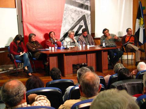 Movimentos de todo o país fizeram-se representar na Conferência sobre Linhas de Muito Alta Tensão promovida pelo Bloco de Esquerda