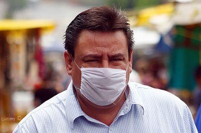 Máscara de protecção. Foto ■ Guerry, FlickR