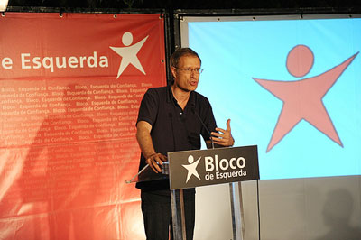 Francisco Louçã acusou ainda Sócrates de políticas de favorecimento, como no caso dos contentores de Alcântara