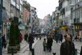 Imagem da arruada na Rua de Santa Catarina, no Porto