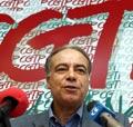 Carvalho da Silva liderou a delegação sindical no encontro com o Bloco