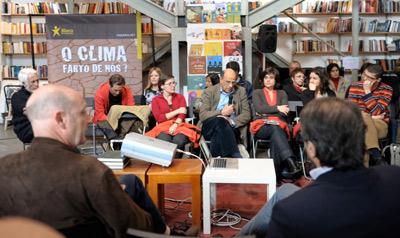 Debate internacional sobre Alterações do Clima. Foto Paulete Matos