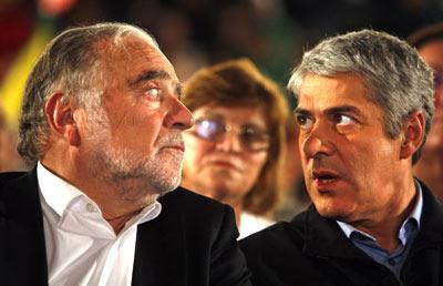 """""""Os responsáveis políticos e da justiça não se podem misturar"""". defende Manuel Alegre. Foto de arquivo Lusa"""