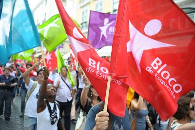 O Bloco apresentou hoje as propostas que vai defender para transformar o trabalho e a vida dos portugueses (foto Paulete Matos)