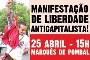 Vem à Manifestação do 25 de Abril !