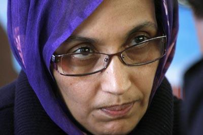 Aminetu Haidar está há 26 dias em greve da fome - Foto da Lusa