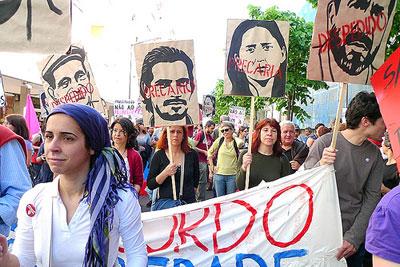 Mayday 2009 - manifestação de precários. Foto de Paulete Matos