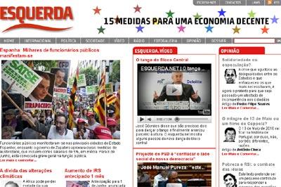 Esquerda.net em 21 de Maio de 2010